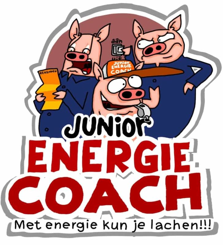 logo Junior energie coach 3 varkentjes